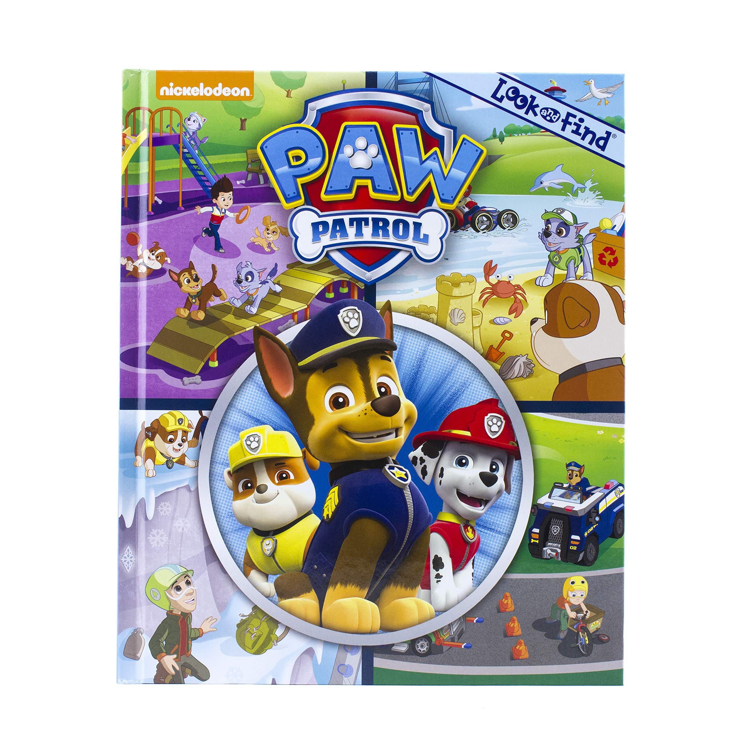 Read Online Nickelodeon Paw Patrol - Look and Find - PI Kids pdf epub