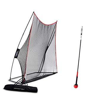 d001bfb2319d Rukket Haack Golf Net 3pc Bundle with Flexible Golf Swing Plane Tempo  Trainer and Carry Bag