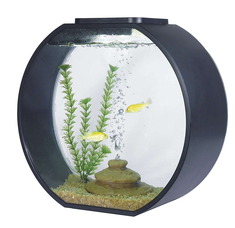 Amazon AA Deco O Aquarium Black Pet Supplies