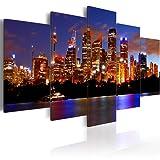 Bilder 200x100 cm - XXL Format - Fertig Aufgespannt – TOP - Vlies Leinwand - 5 Teilig - Wand Bild - Kunstdruck - Wandbild - Sydney 020120-2 200x100 cm B&D XXL murando