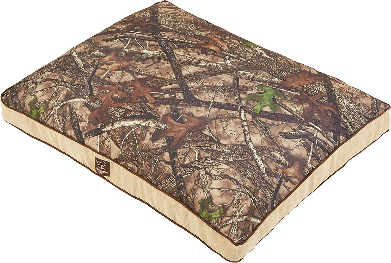 True Timber Camo Suede Gusset Reversible Dog Pet Bed