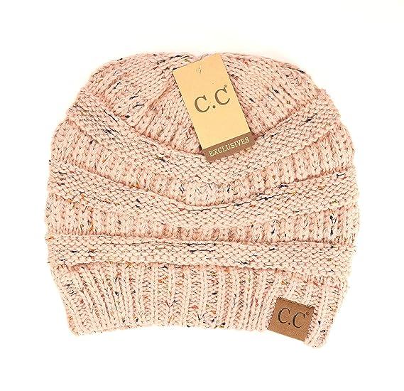 CC Beanie Women Hats Flecked C.C Beanies Hats - 9 Colors (Flecked Indi Pink) be914998bad5