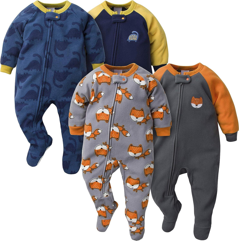 GERBER Baby Boys 4-Pack Blanket Sleeper