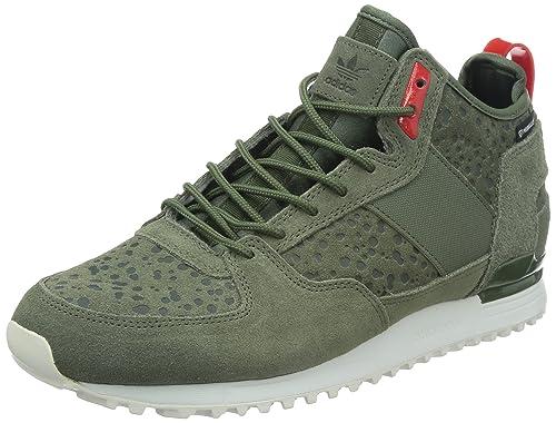buy online 5801d cfb32 Adidas - Pantofole a Stivaletto Uomo, Verde (Green), 43 13