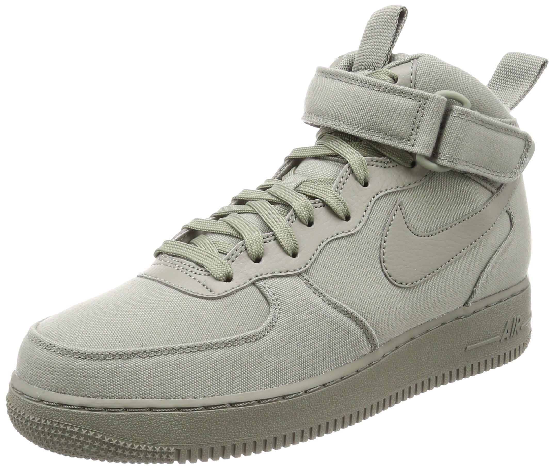 buy online 3897f fbfda Galleon - Nike Air Force 1 Mid  07 Canvas Mens Shoes Dark Stucco Dark  Stucco Ah6770-001 (7.5 D(M) US)