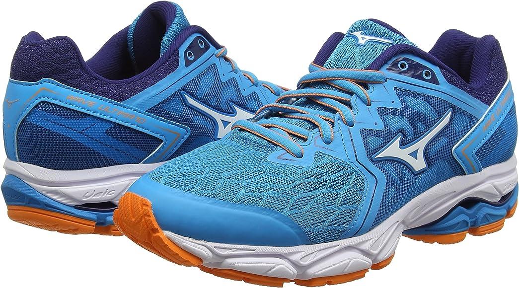 Mizuno Wave Ultima 10, Zapatillas de Running para Mujer, Azul (Hawaiianocean/White/Birdofparadise 01), 36.5 EU: Amazon.es: Zapatos y complementos