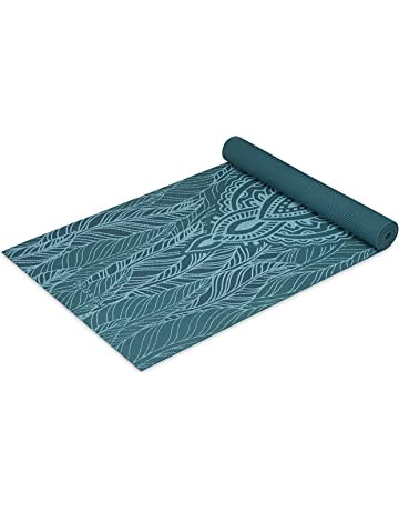 e88960dd37923 Gaiam Yoga Mat - Classic 4mm Print Exercise & Fitness Mat for All Types of  Yoga