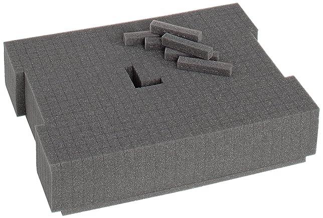 9 opinioni per Sortimo 121015282, Modulo in gommapiuma per cassetta porta attrezzi L-BOXX 136