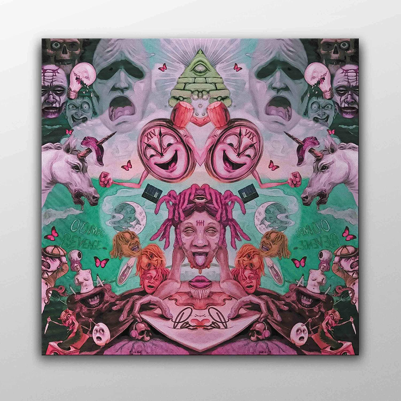 For Trippie Redd Life's a Trip 17 Art Fabric Poster Wall Decor Print Multi
