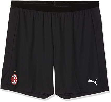 1f143ed3455d Amazon.com: PUMA 2018-2019 AC Milan Home Shorts (Black): Sports ...
