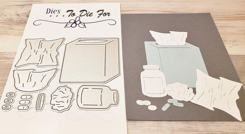 Dies to die for metal craft cutting die Tissue Box /& Medication