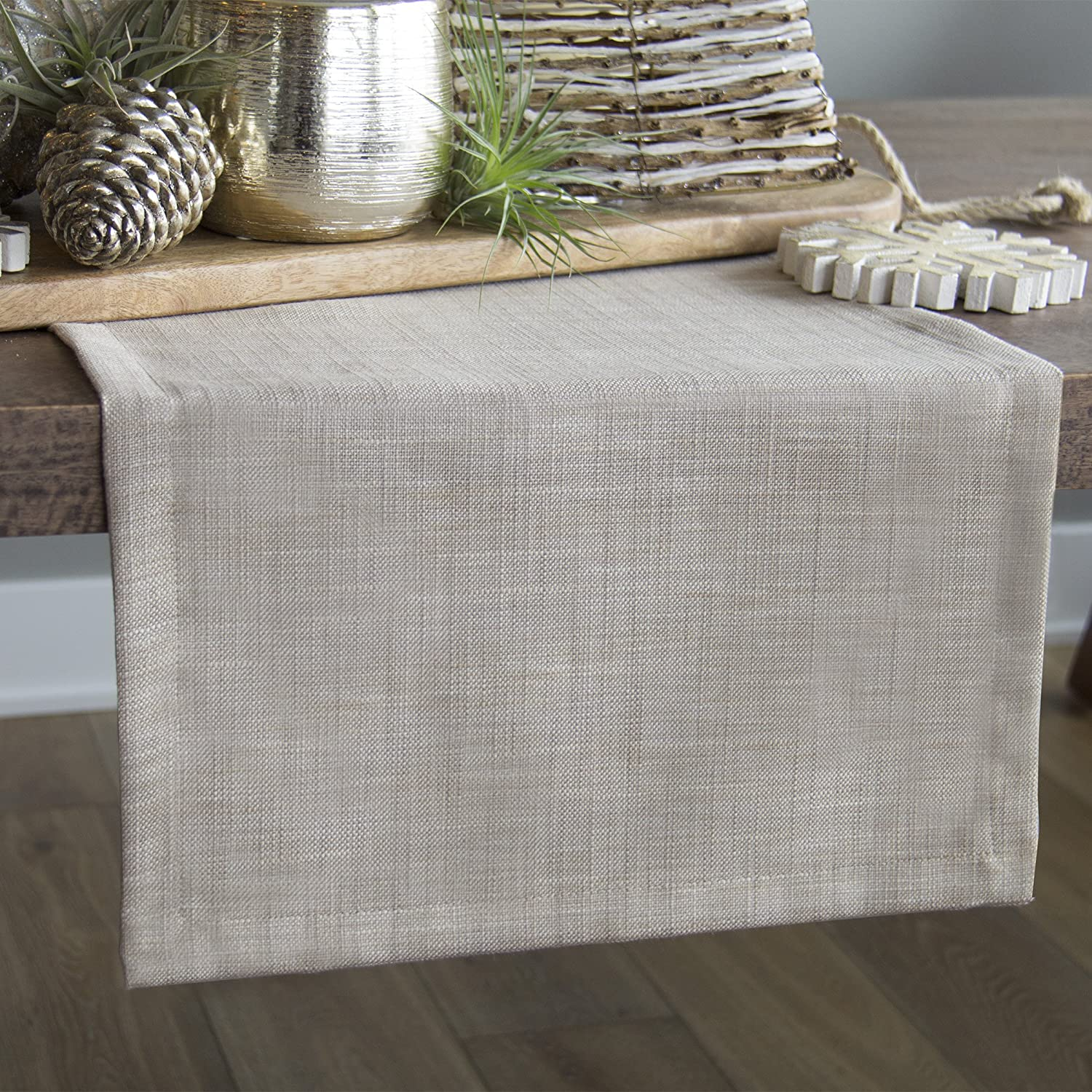 Heritage Lace Wovens 16 X 54 Natural Runner