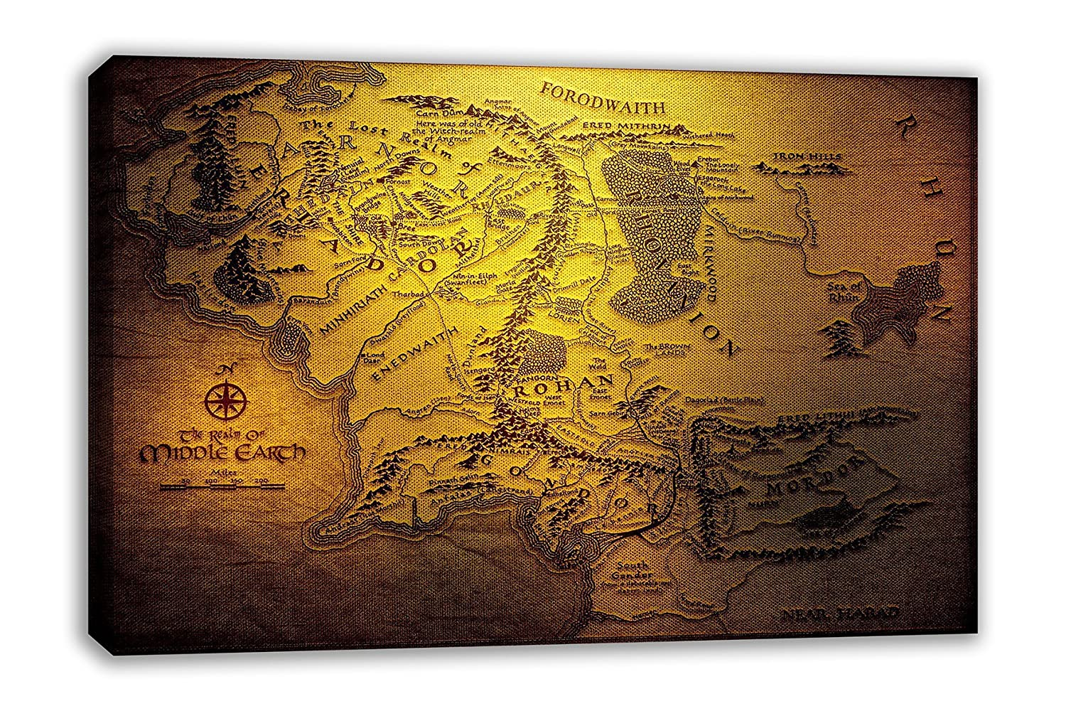 Amazon.com: THE HOBBIT LORD OF THE RINGS REALM OF MIDDLE EARTH ...
