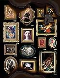 Dark Inspiration Grotesque Illustrations, Art and Design
