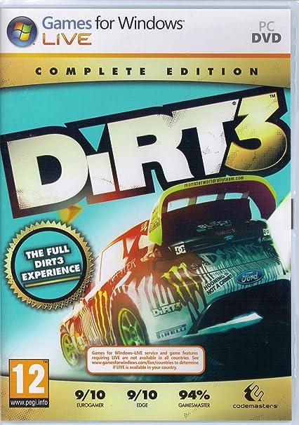 amazon dirt 3 complete edition pc eu輸入版 レーシング