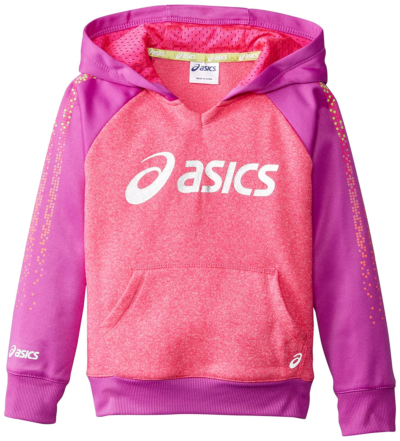ASICS Little Girls' Long Sleeve Rainbow Run Hoodie ASICS Girls 2-6x 3543177E