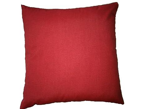 Divano Rosso Cuscini : Cuscini decorativi per divano colorati vari colori cm rosso