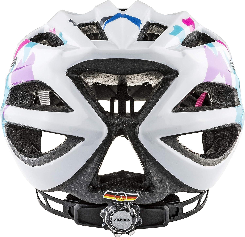 Alpina FB Jr color multicolor Casco de ciclismo infantil 2.0 51-55CM