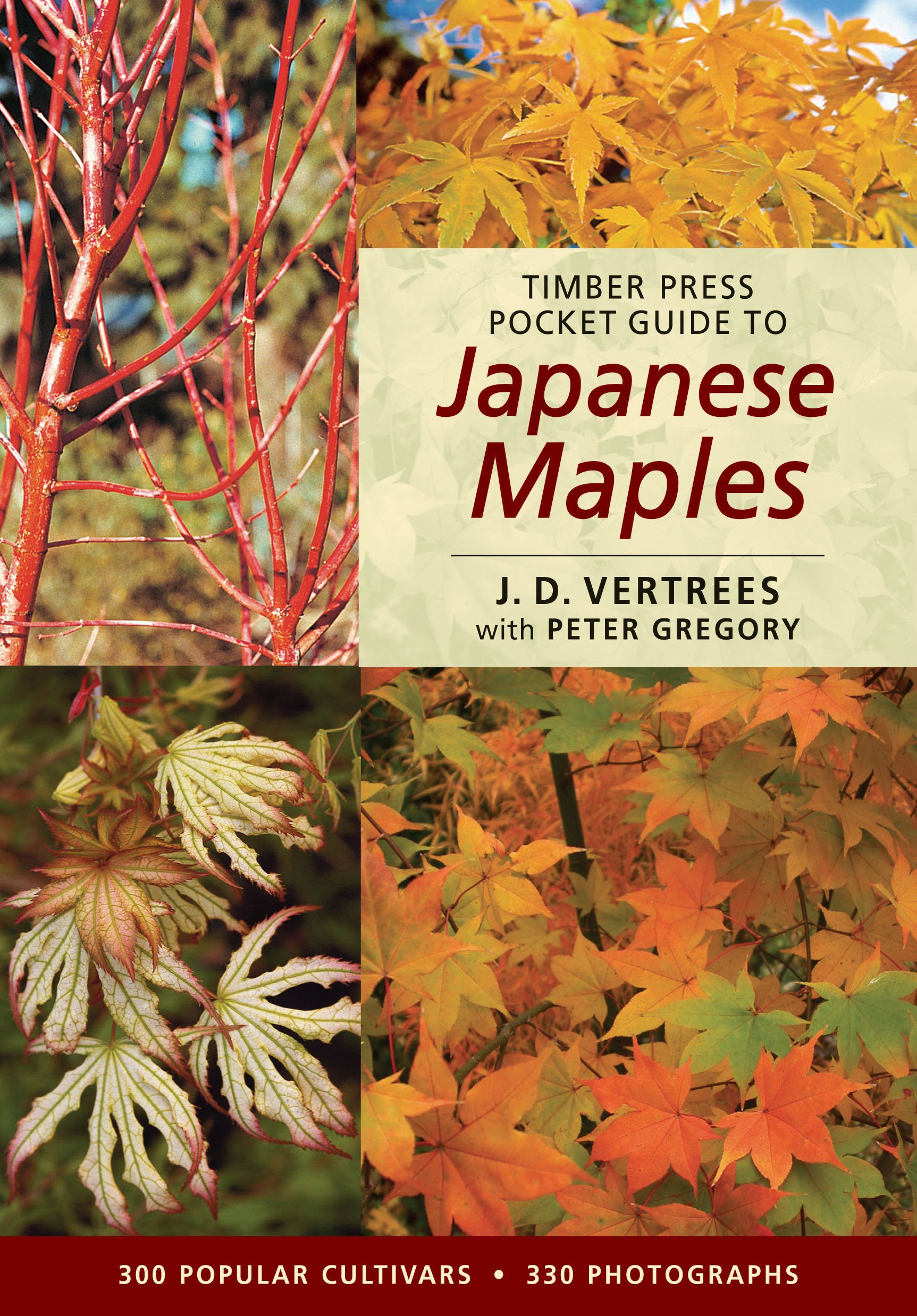 Timber Press Pocket Guide to Japanese Maples (Timber Press Pocket Guides):  J. D. Vertrees, Peter Gregory: 9780881927993: Amazon.com: Books