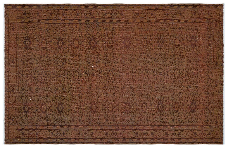 Bespoky ビンテージ 手織 ラグ 褐色 大きいサイズ 174 X 267 Cm   B07HNNPQ83