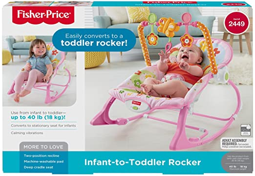 Amazon Fisher Price Infant To Toddler Rocker Bunny Infant