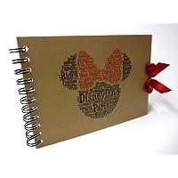 Disney Autograph Book, Mickey or Minnie Mouse, Disney Land or Disneyworld, A5 Size (A5 Minnie (Paris))