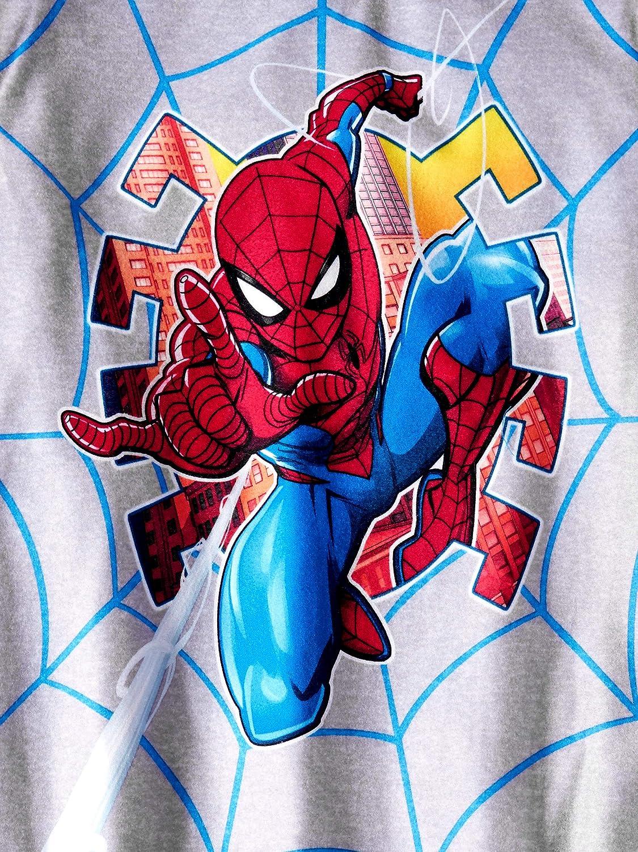 Boys Marvel Spider-Man 2 pc Brushed Jersey Pajama Set