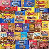 Cookies - 40 Packs - Variety Pack - Individually Wrapped Assortment Including: Oreos, Keebler, Grandma's Cookies, Chips Ahoy