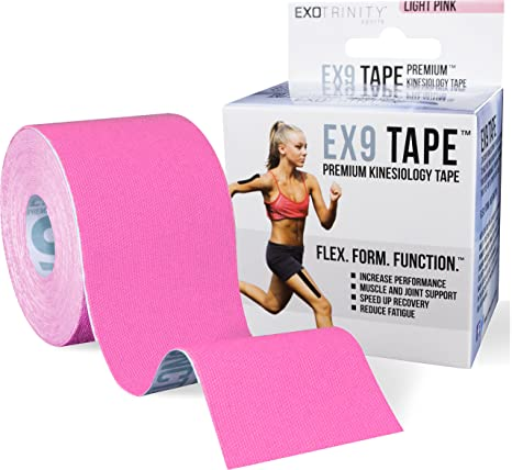 Amazon exotrinity sports kinesiology tape with quick start pro exotrinity sports kinesiology tape with quick start pro taping guide 164 feet by 2 fandeluxe Images