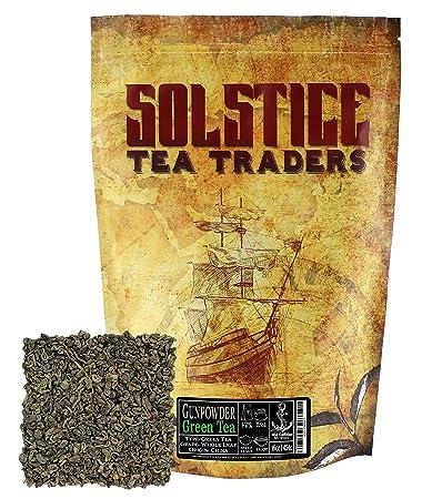 Tea forte | preparing the perfect cup of gunpowder tea.