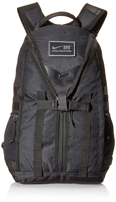 Schwarz(schwarz schwarz schwarz) Nike Herren Nk Sfs Recruit Bkpk Rucksack, 15x24x45 Centimeters