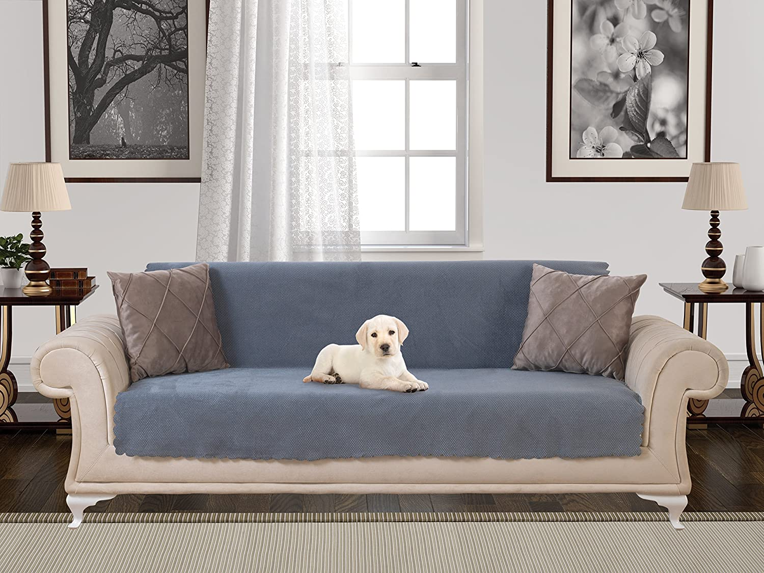Anti Slip Armless Pet Dog Sofa Cover Couch Covers