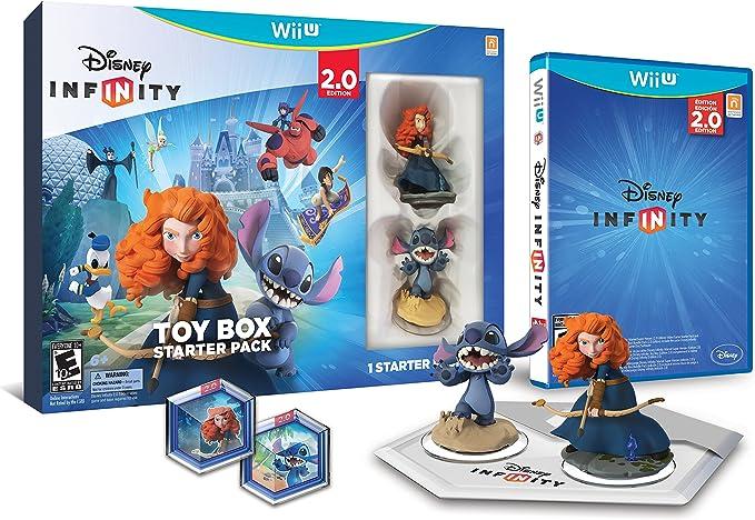 Disney Infinity Originals Toy Box Starter Pack (2.0 Edition) Wii U:  Amazon.com.br: Games