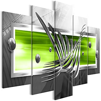 decomonkey   Bilder Abstrakt 225x100 cm XXL   5 Teilig ...