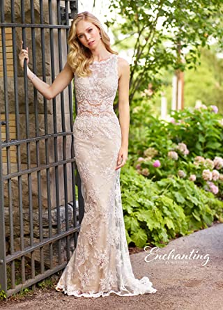 4c0deee43be Image Unavailable. Image not available for. Color  Mon Cheri Bridal  Enchanting 118144
