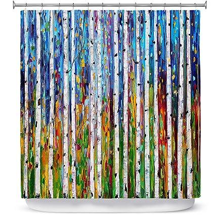 Amazon DiaNoche Designs SHO KarenTarltonAutumnBirchTre Shower
