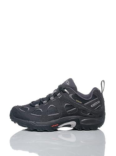 Salomon EXIT 2 GTX W Zapatillas de Senderismo Negro para Mujer GORE TEX: Amazon.es: Deportes y aire libre