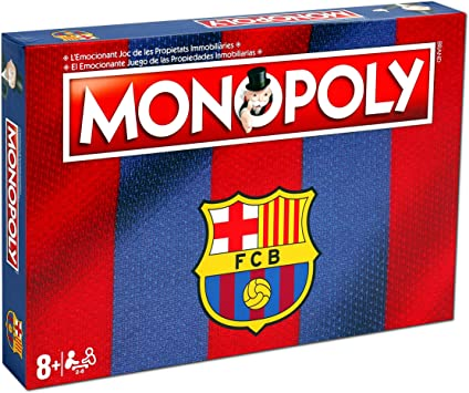 Winning Moves Monopoly FC Barcelona (10537), Multicolor ...