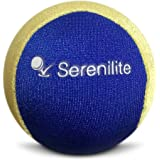 Serenilite Relax Dual Colored Hand Therapy Stress Ball - Optimal Stress Relief - Great for Hand Exercises and Strengthening