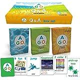 AGO Q&A 3レベル セット 第2版 英語 カードゲーム