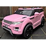 Kids Range Rover HSE Sport Style 12v Electric / Battery Ride on Car Jeep - Pink New Model