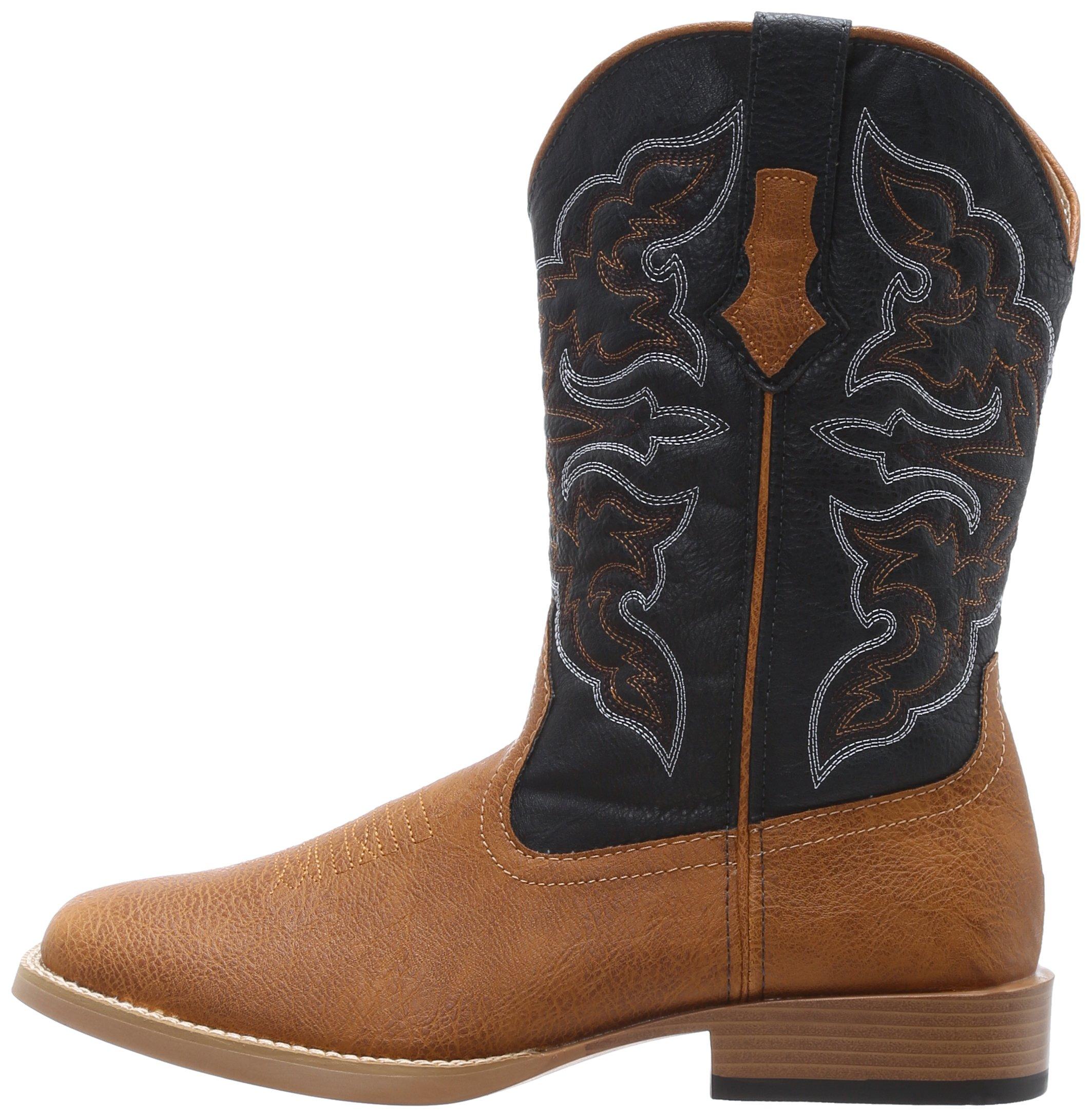 31cc47a2426 Details about ROPER Men's Ostrich Print Square Toe Cowboy Boot, - Choose  SZ/color