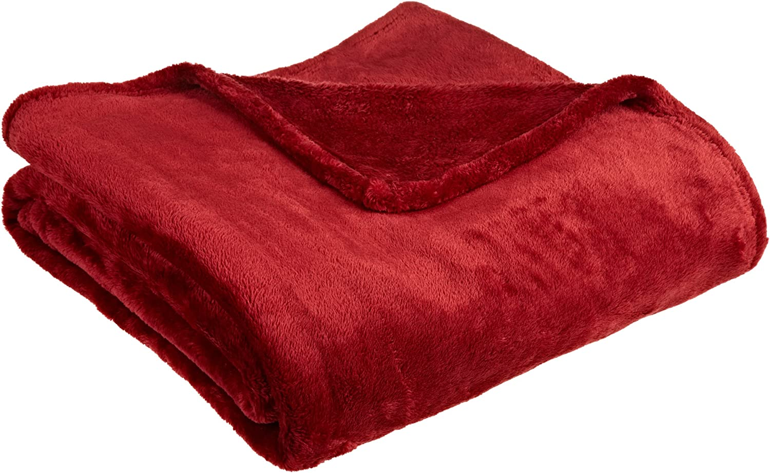 Northpoint Cashmere Plush Velvet Throw, Burgundy, 50x60 Northpoint Trading Inc. 70515