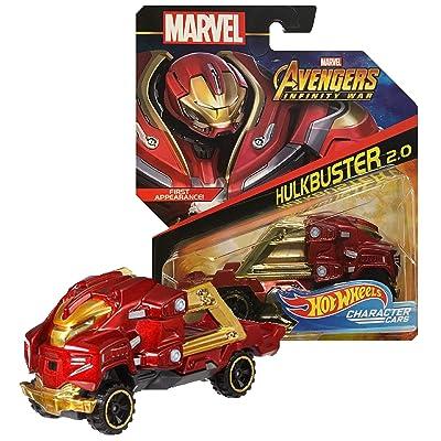 Hot Wheels Marvel Infinity War Character Cars Hulkbuster 2.0 (Veronica): Toys & Games