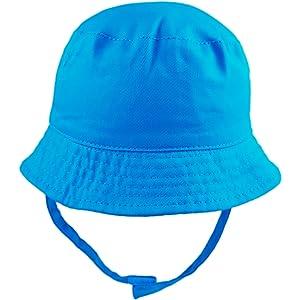 Pesci Baby Boys Summer Bucket Sun Hat Fire Engine Motif