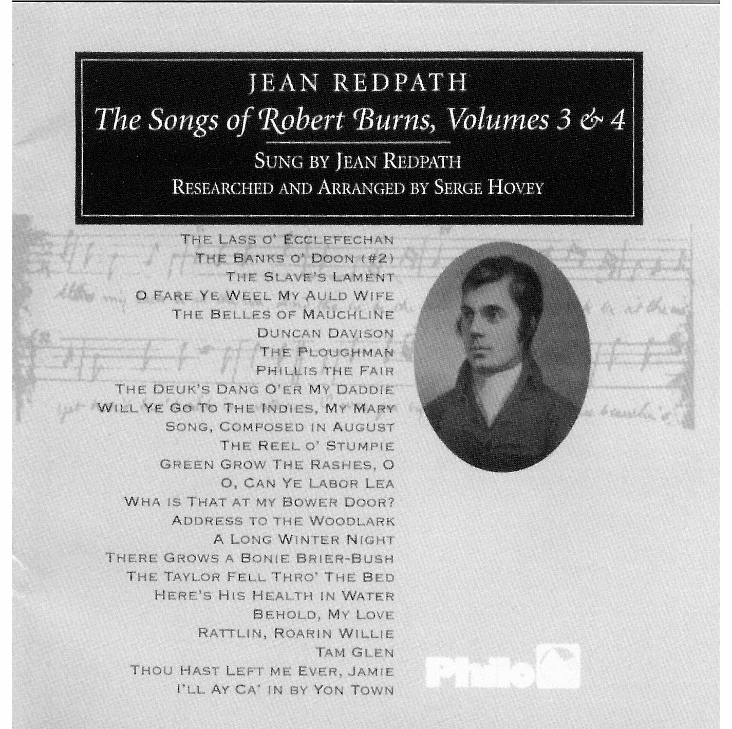 The Songs of Robert Burns, Volumes 3 & 4