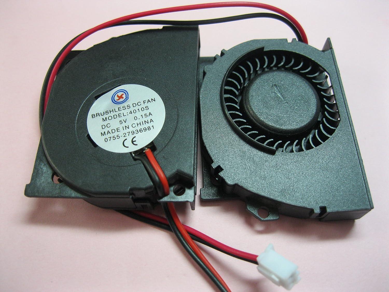 Amazon.com 2 pcs Brushless DC Blower Fan 4010S 5V 2 Wires 50x40x10mm Sleeve-bearing Skywalking Home u0026 Kitchen : dc brushless fan wiring - yogabreezes.com