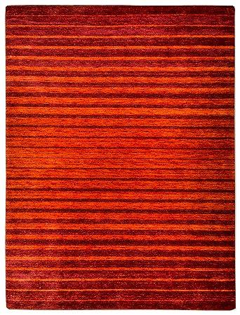 Morgenland Gabbeh Nerio Teppich Modern 140 X 70 Cm Brucke Rot Orange