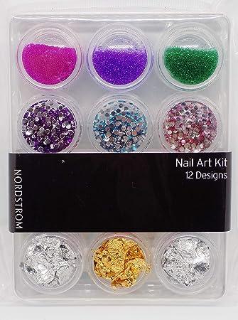 Amazon Nordstrom Nail Art Kit 12 Design Elements Beauty