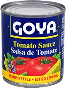 Goya Tomato Sauce, 8-Ounce Units (Pack of 48)